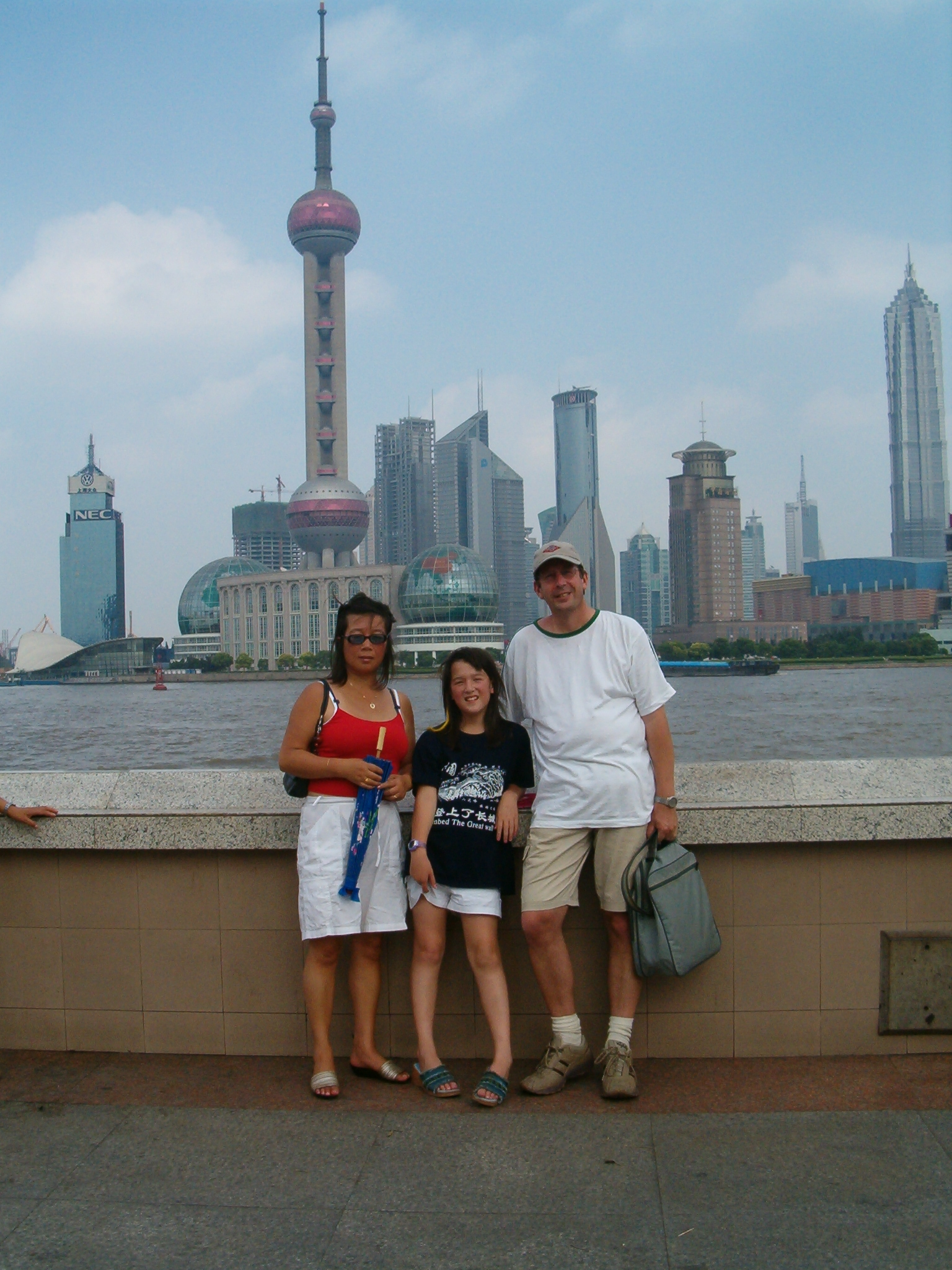 The Oriental Pearl TV Tower Shanghai China