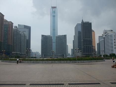 Guangzhou East: central business district