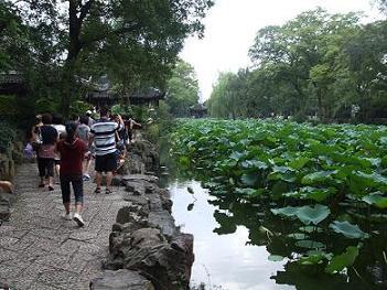 China Suzhou gardens