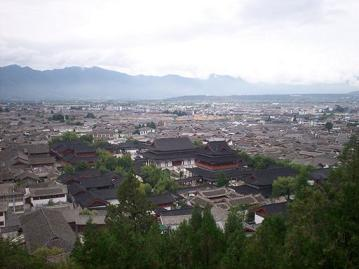 lijiang old town downtown