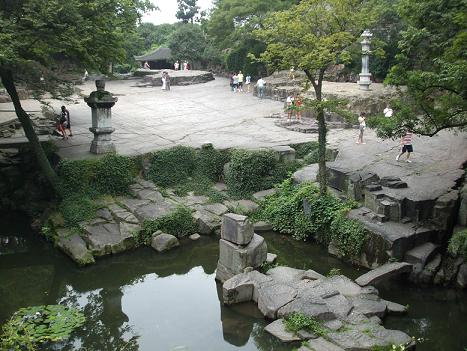 tiger hill in Suzhou
