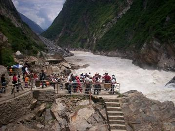 exiting part of the Tiger Leaping Gorge