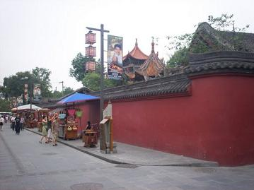 wenshu temple in chengdu china