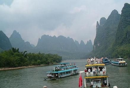cruise guilin china