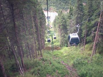 huanglong cable car