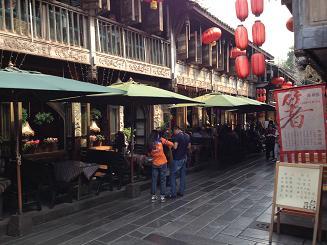 restaurants in Jinli Street Chengdu