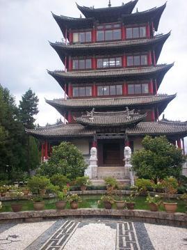 wangu pagode lijiang