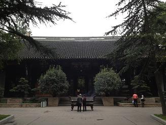 Chengdu taoist temple qingyang hall