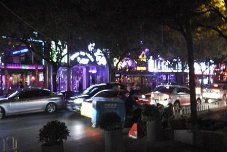 Sanlitun nightlife Beijing