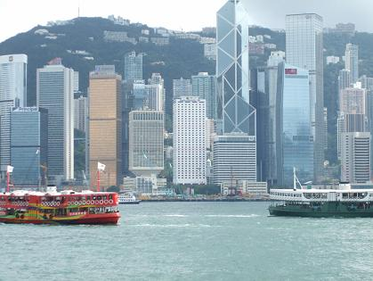 star-ferry boats in hong kong