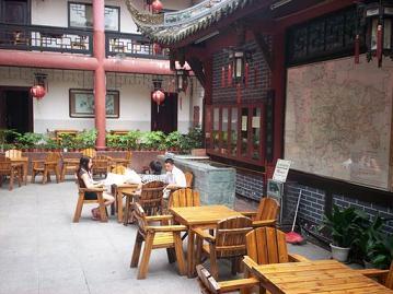 wenjun mansion chengdu courtyard