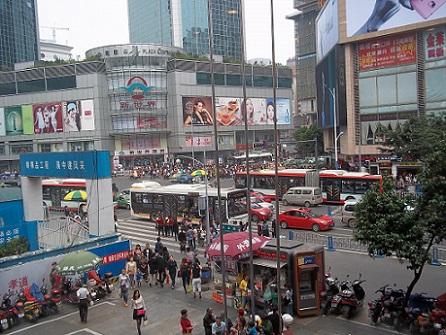 chengdu shopping street