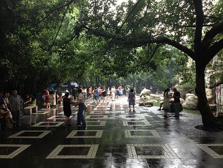 People Park Chengdu dancing