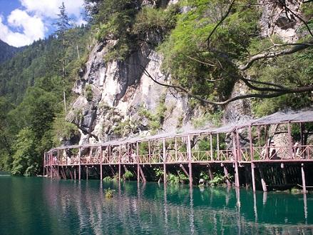 jiuzhaigou rize valley lake