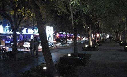 sanlitun street beijing