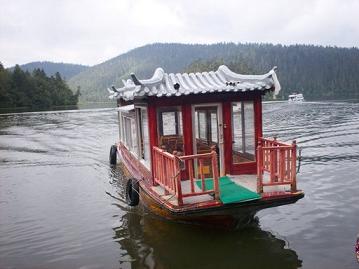 boat on Bita Lake